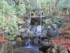 赤山禅院:駒滝不動尊