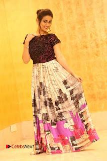 Actress Anchor Manjusha Pictures at Babu Bangaram Success Meet  0154.JPG