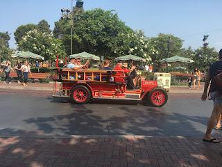 Disneyland Main Street Fire Truck