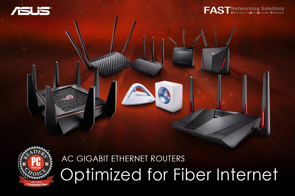 ASUS Wireless AC Routers