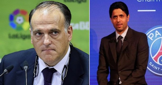 Tebas give reason why PSG can never be like Real Madrid