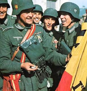 Soldados de la División Azul