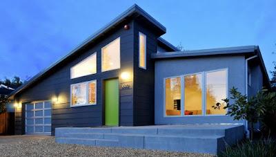Unique Contemporary Style House Design Idea
