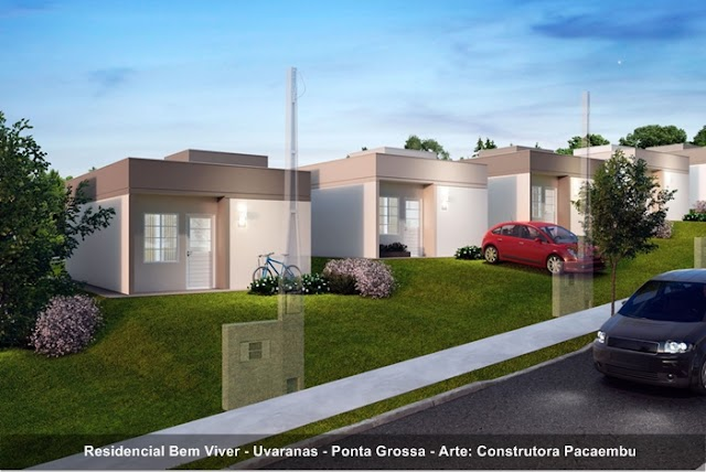 Paraná: Ponta Grossa vai receber um novo bairro planejado com 408 casas