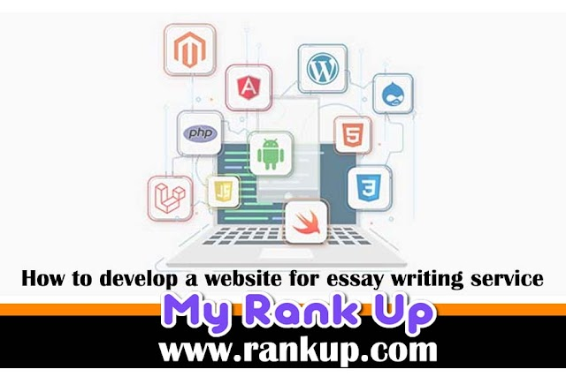 How to develop a website for essay writing service