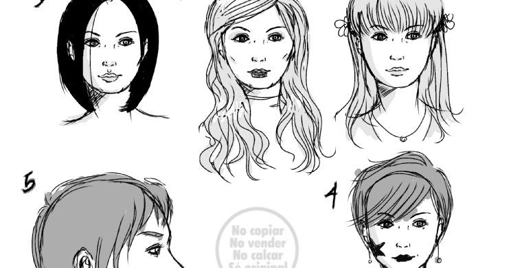 Dibujos Y Sketches De Jane Lasso Enero 2015: Caras De Mujeres Estilo Comic Americano