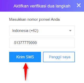 Verifikasi dua langkah merupakan salah satu metode pengamanan yang disediakan oleh Yahoo  Cara Mengaktifkan Verifikasi 2 Langkah Akun Yahoo