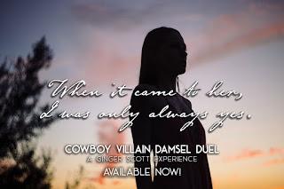 {Release Day Blitz} Cowboy Villain Damsel Duel by Ginger Scott