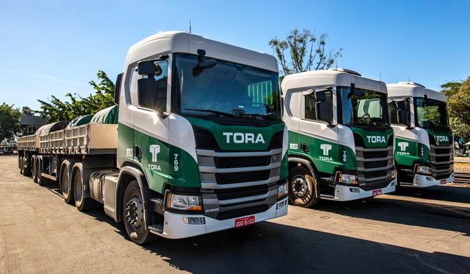 TORA Transportes anuncia nova contratação de motoristas carreteiros