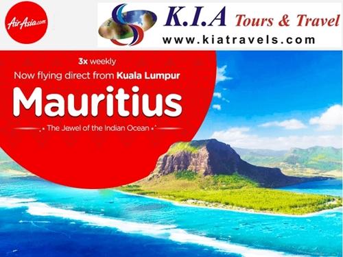 Air Asia : Terbang ke Mauritius Mulai 04 Oktober 2016