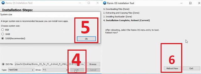 نظام أندرويد للكمبيوتر شرح تثبيت Remix OS دون فورمات وبدون فلاشة أو أسطوانة بجانب الويندوز