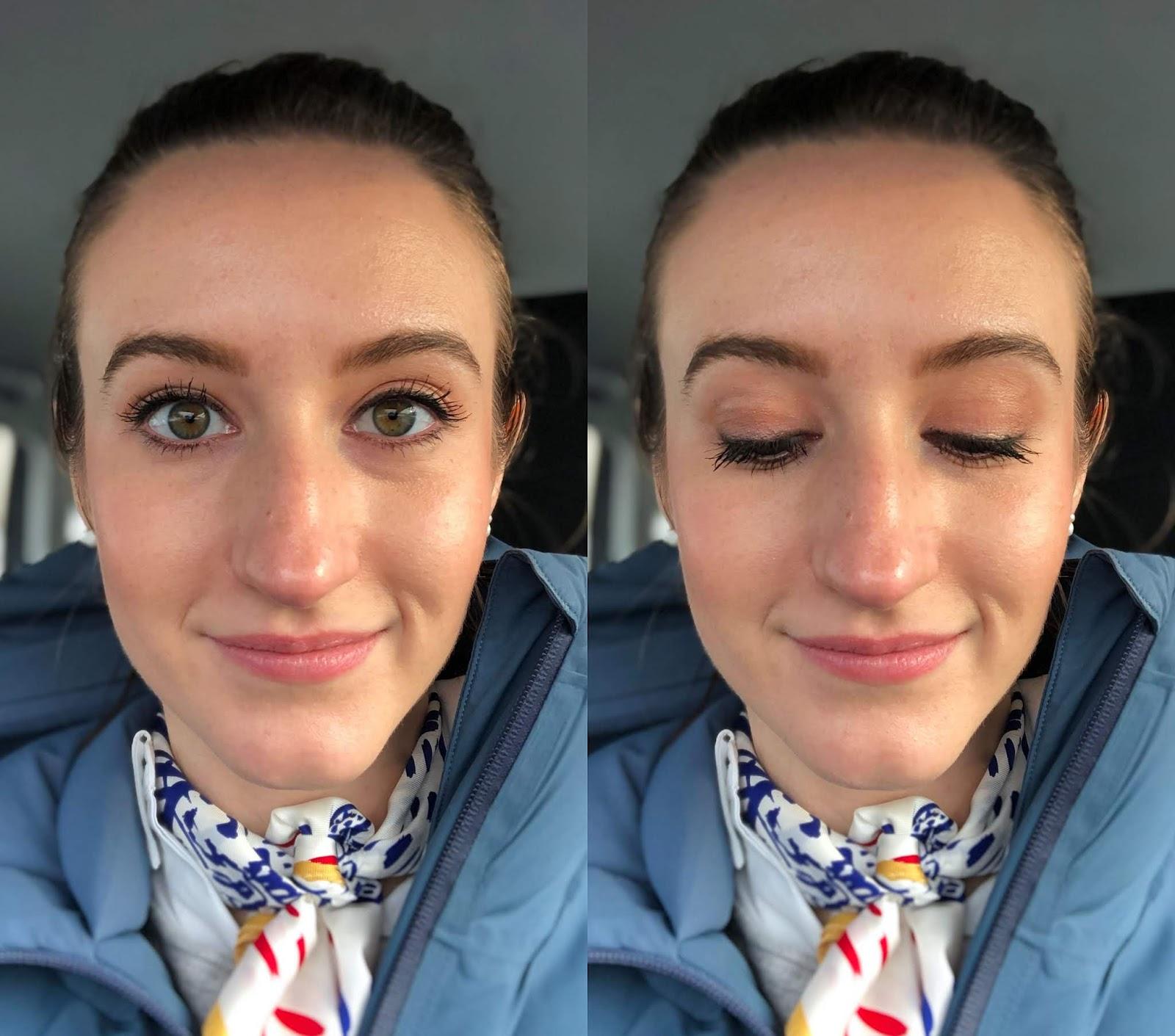 AVON Mono Pop Eyeshadow Palette look