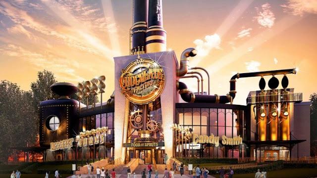 Habrá una Fábrica de Chocolates Willy Wonka