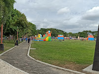 Alun alun kebumen wisata kota murah bareng keluarga
