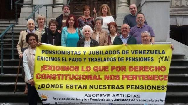 España aprueba una renta a 300 pensionistas venezolanos