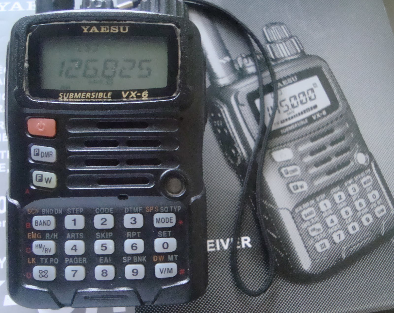 RADIO SELLER: Yaesu VX 6R ( Sold )