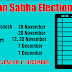 Election Date announce In 5 States Results on December 11, Code of Conduct Apply From Today In 5 States