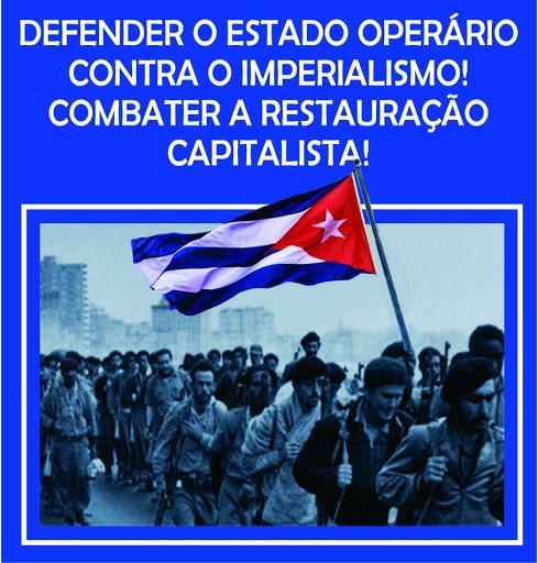 DEFENDER O ESTADO OPERÁRIO CONTRA O IMPERIALISMO! COMBATER A RESTAURAÇÃO CAPITALISTA!