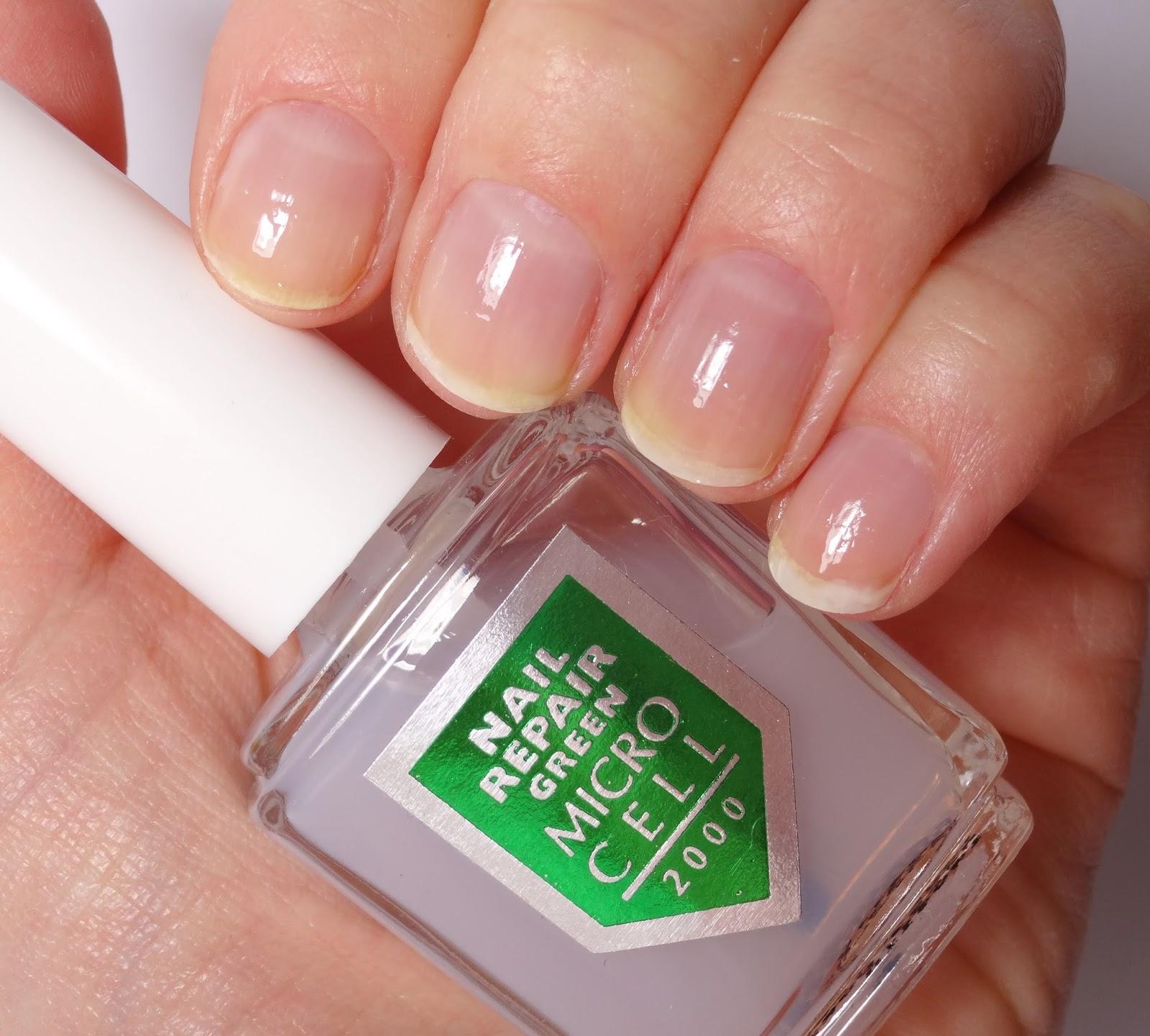 Micro Cell 2000 - Nail Repair GREEN Pretty Clover Beautyblog