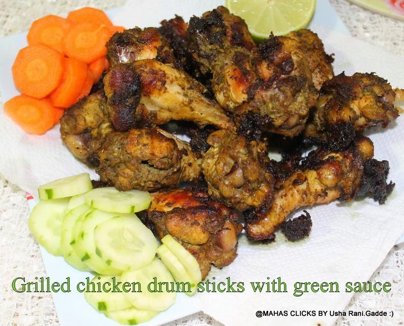Mahaslovelyhome Spicy Grilled Chicken Drumsticks Grilled Chicken