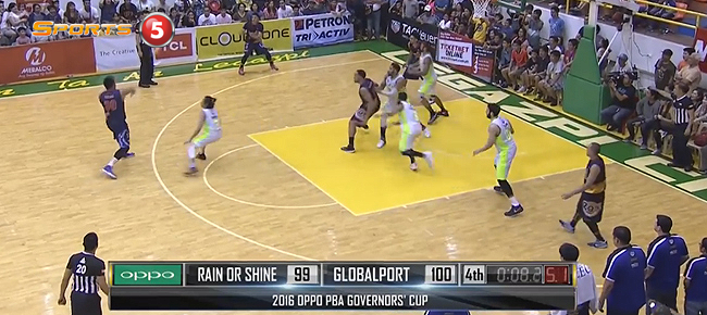 HIGHLIGHTS: GlobalPort vs. Rain or Shine (VIDEO) August 27