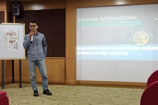 Pemuda Bone Jadi Pemateri Seminar Internasional, Bahas Ekonomi Kreatif