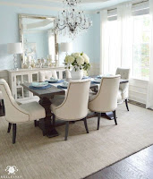 Decorate your dining room with chandelier
