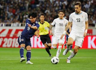 مشاهدة مباراة اوروجواي واليابان