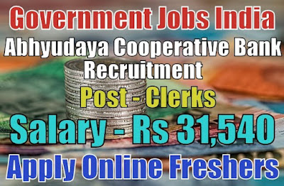 Abhyudaya Cooperative Bank Recruitment 2019