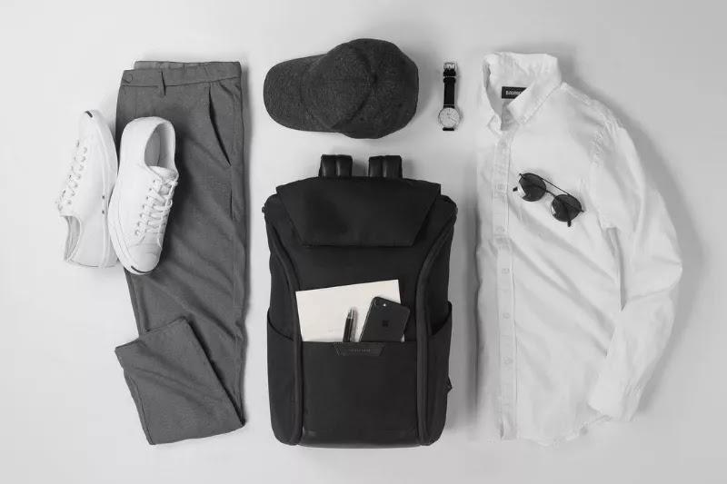 White with dark grey