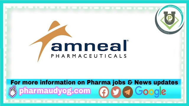 Amneal Pharma | Walk-in for Production at Ahmedabad on 14th Feb 2021