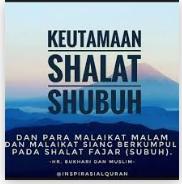 Surat-Surat Al-Qur'an Yang Pernah Dibaca Nabi SAW. Ketika Shalat Subuh.