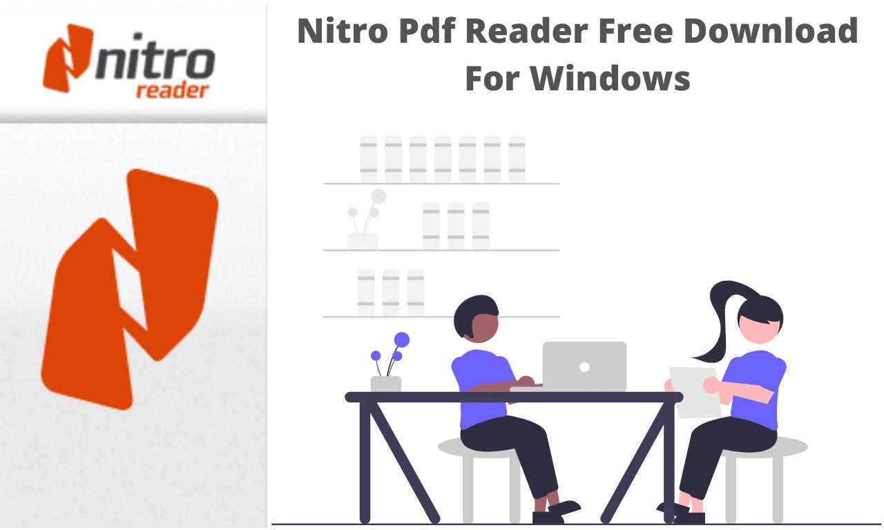 Nitro Pdf Reader Free Download For Windows