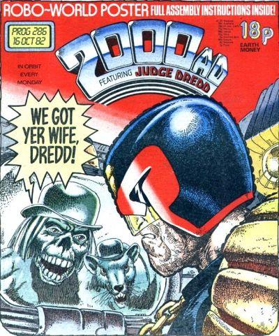 2000 AD Prog 286, Judge Dredd