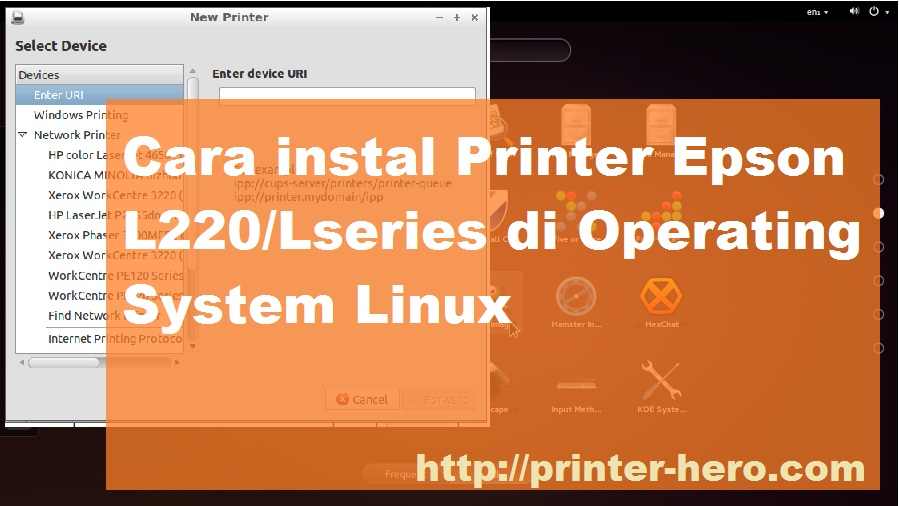 Cara Instal Printer Epson di Linux L220/Lseries - Printer Heroes