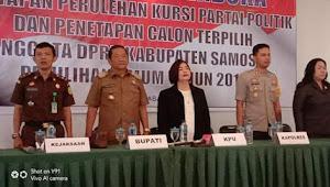 Pasca Putusan MK, KPU Umumkan Calon Terpilih Anggota DPRD Samosir Hasil Pemilu 2019