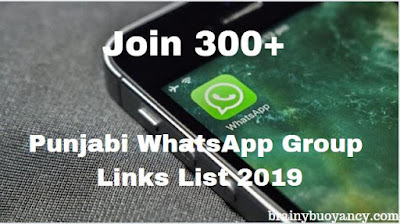 Join 300+ Punjabi WhatsApp Group Links List 2019