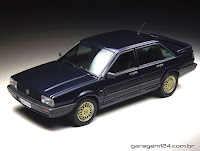 MIniatura VW Santana Executivo 1/24 die-cast Welly