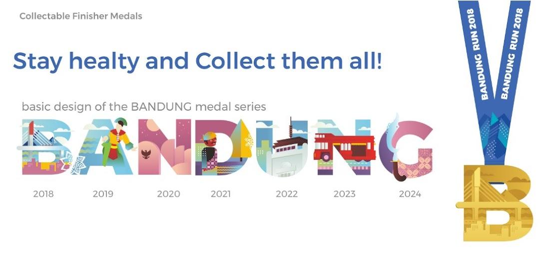 Bandung Run • 2019 Medals