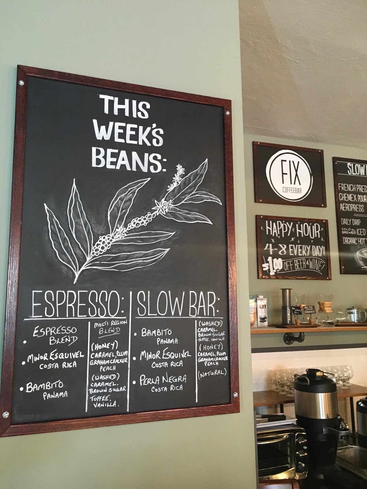 Houston Food Explorers Coffee The Fix Coffeebar Home of the