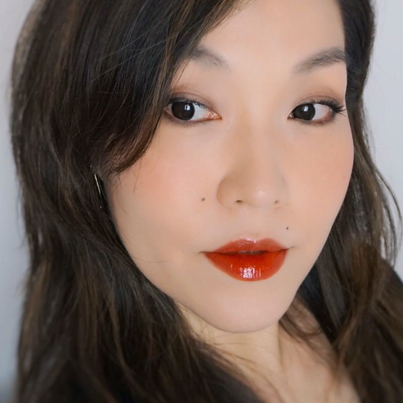 Romand Glasting Water Tint 02 Red Drop swatch review