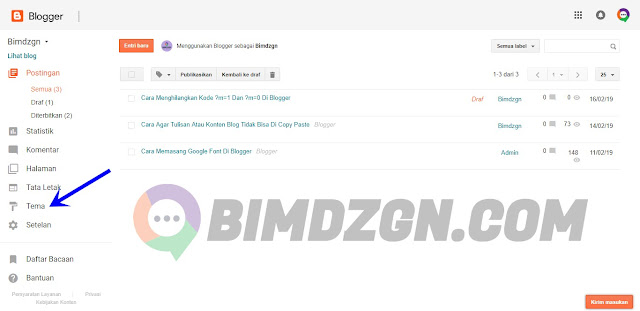 Cara Menghilangkan Kode ?m=1 Dan ?m=0 Di Blogger