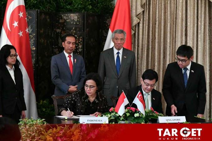 Indonesia dan Singapura Sepakat Perkuat Kerjasama Ekonomi