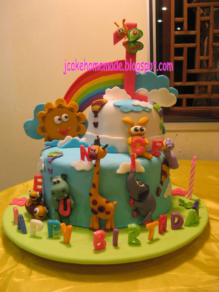 Jcakehomemade Baby TV theme birthday cake