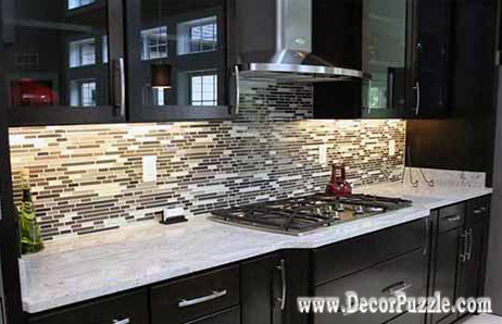 River white Granite countertops, white granite worktops, black kitchen cabinets