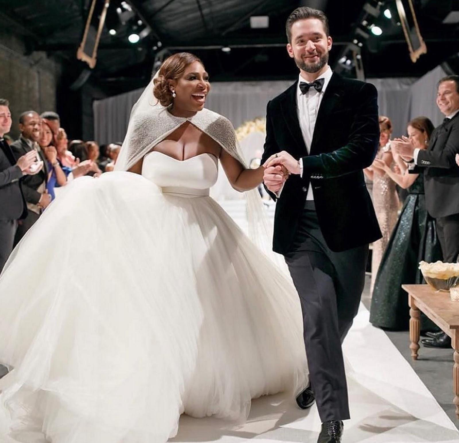 SERENA WILLIAMS, ALEXIS OHANIAN WEDDING 3