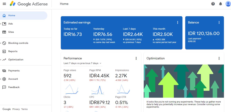 Cara Membuat Unit Iklan Google Adsense | Ahmad Subqi