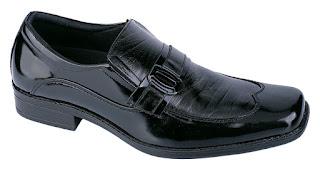 Sepatu Kerja Pria Kulit Mengkilat  RDF 017