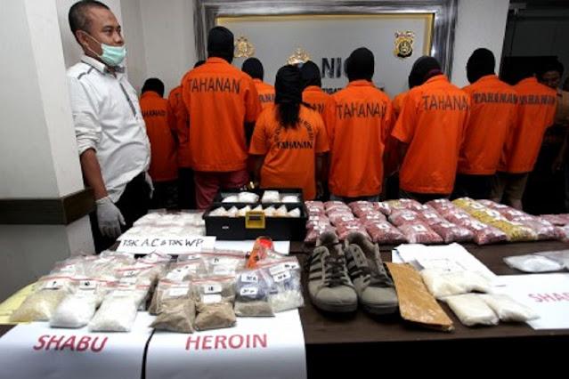 Kasus Narkoba di Lombok NTB