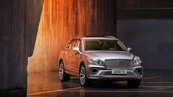 2021 Bentley Bentayga updates and new technologies